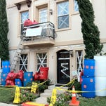 OCT. 23, 2014: Ebola Halloween decorations in University Park are causing controversy.