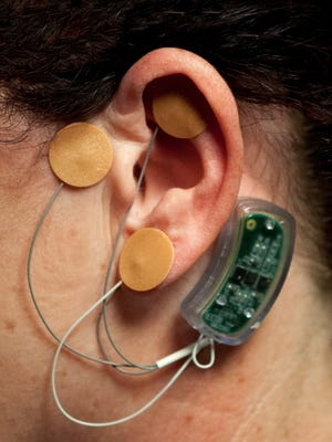 The Bridge, a device used to help prevent the pain associated with drug withdrawal, sends electronic feedback to the brain.