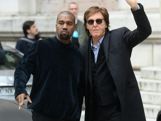 Kanye West and Sir Paul McCartney