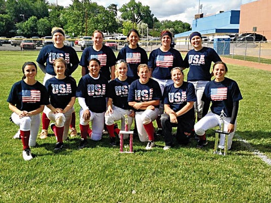 America's Team poses for a photo after winning the Kathy Rouse Tournament on May 24 in Farmington.