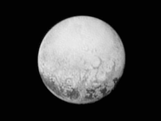 This July 11 image provided by NASA shows Pluto from the New Horizons spacecraft.