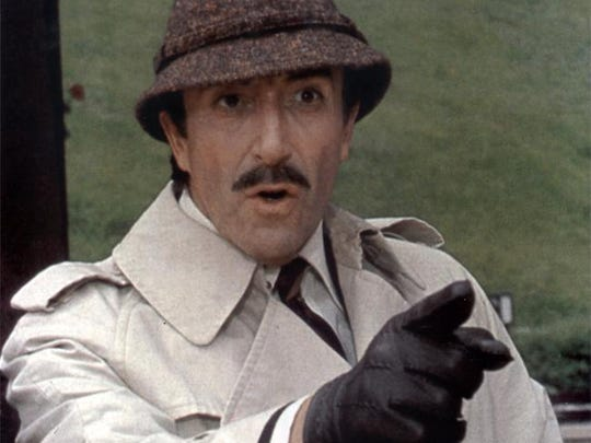 The great Peter Sellers as Inspector Clouseau