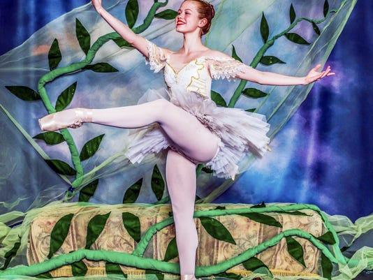 Rachel Miller dances as Princess Aurora in CBT's 'Sleeping Beauty' performances June 13.