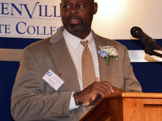 Hanover resident Paul Grier Jr. was inducted into the Glenville State College Hall of Fame on May 16. Grier scored 1,670 points during his college career.