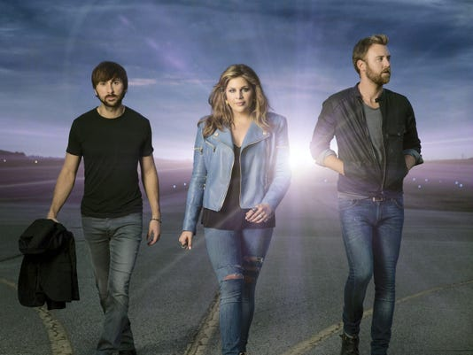 Grammy-winning country group Lady Antebellum will hit the stage Saturday, Sept. 6, at the York Fair.