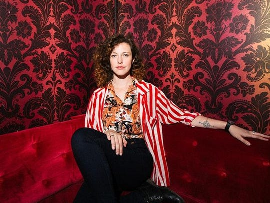 Esmé Patterson returns to the Haunt on Wednesday.