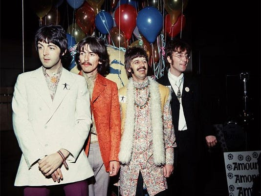 John Lennon with The Beatles