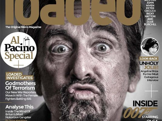 Al Pacino on Loaded cover