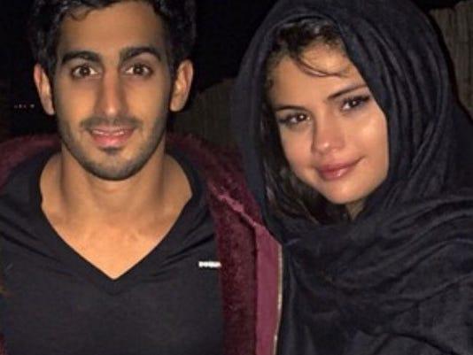 Selena Gomez and Harith