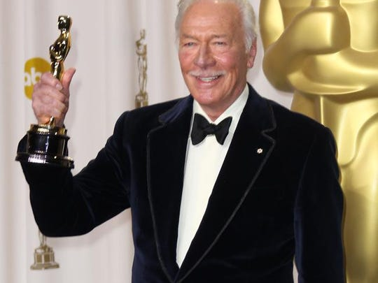 Christopher Plummer at the Oscars in 2012
