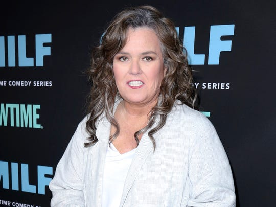 "Rosie O'Donnell attends to the Los Angeles premiere of Showtime's ""SMILF."""