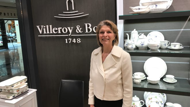 Isabelle von Boch, an eighth-generation member of the founding family, is the brand ambassador for Villeroy & Boch
