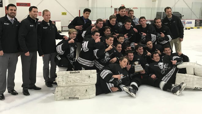 After winning the Passaic County title, the Wayne hockey team checks in at No. 8 in this week's NorthJersey.com Top 15.