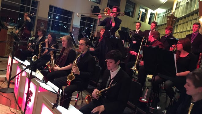The Fond du Lac High School Commons will transform into a 1940's Jazz Club as students in the Fond du Lac High School Jazz program will present their second annual Live! In Swing City.