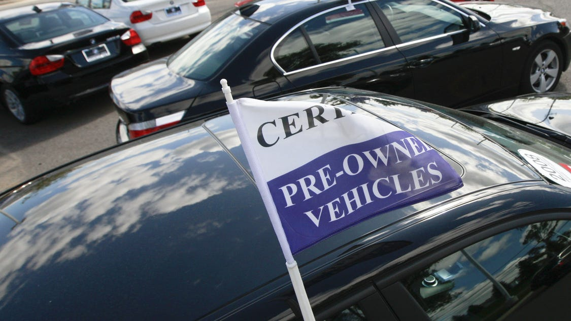 Used Car Prices Hit A Record Average Of 16 800 In 2014