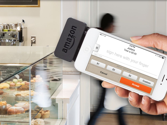 Amazon's Local Register reader costs $10, but Amazon