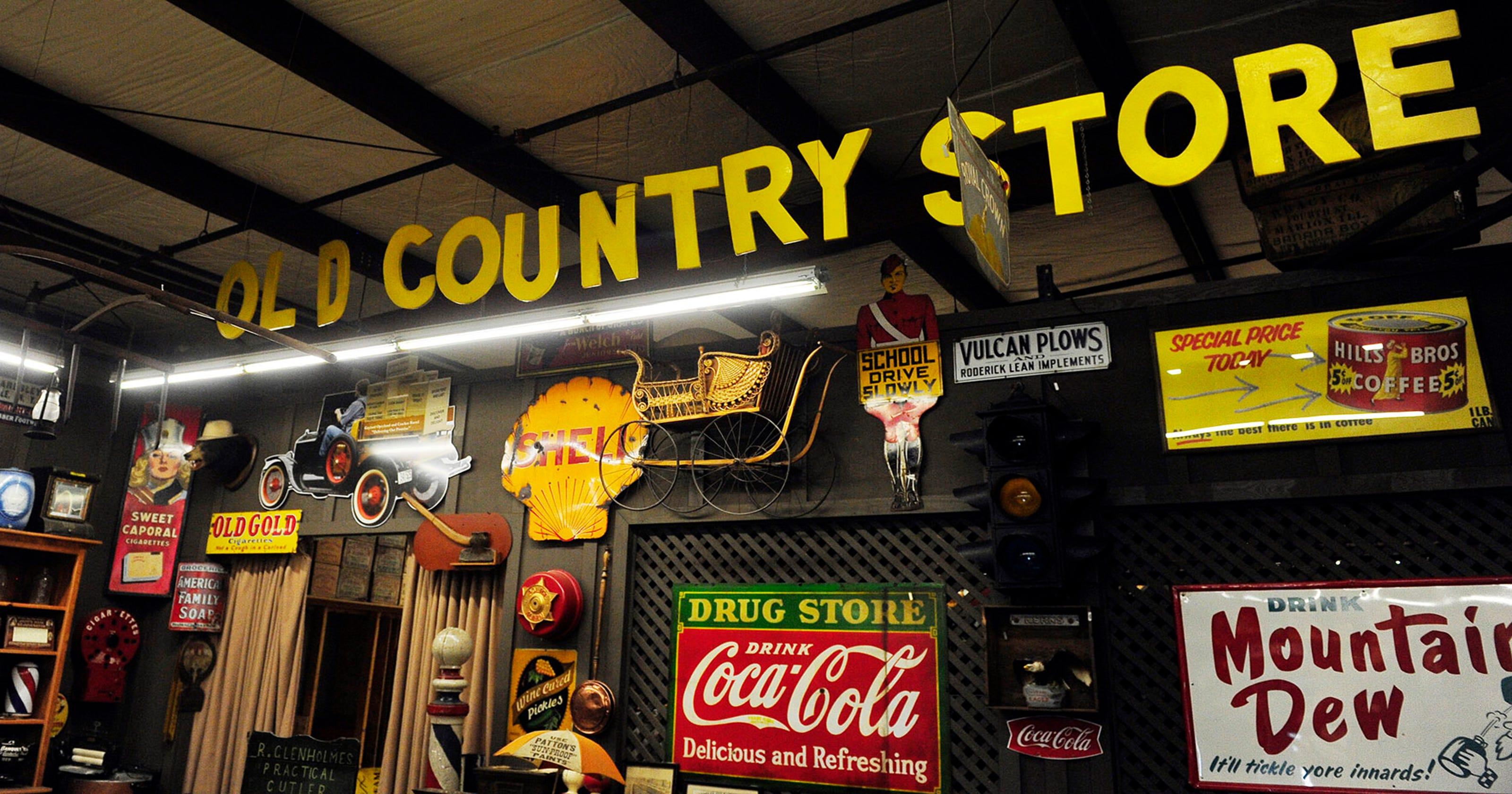 Cracker Barrel warehouse is treasure trove of Americana