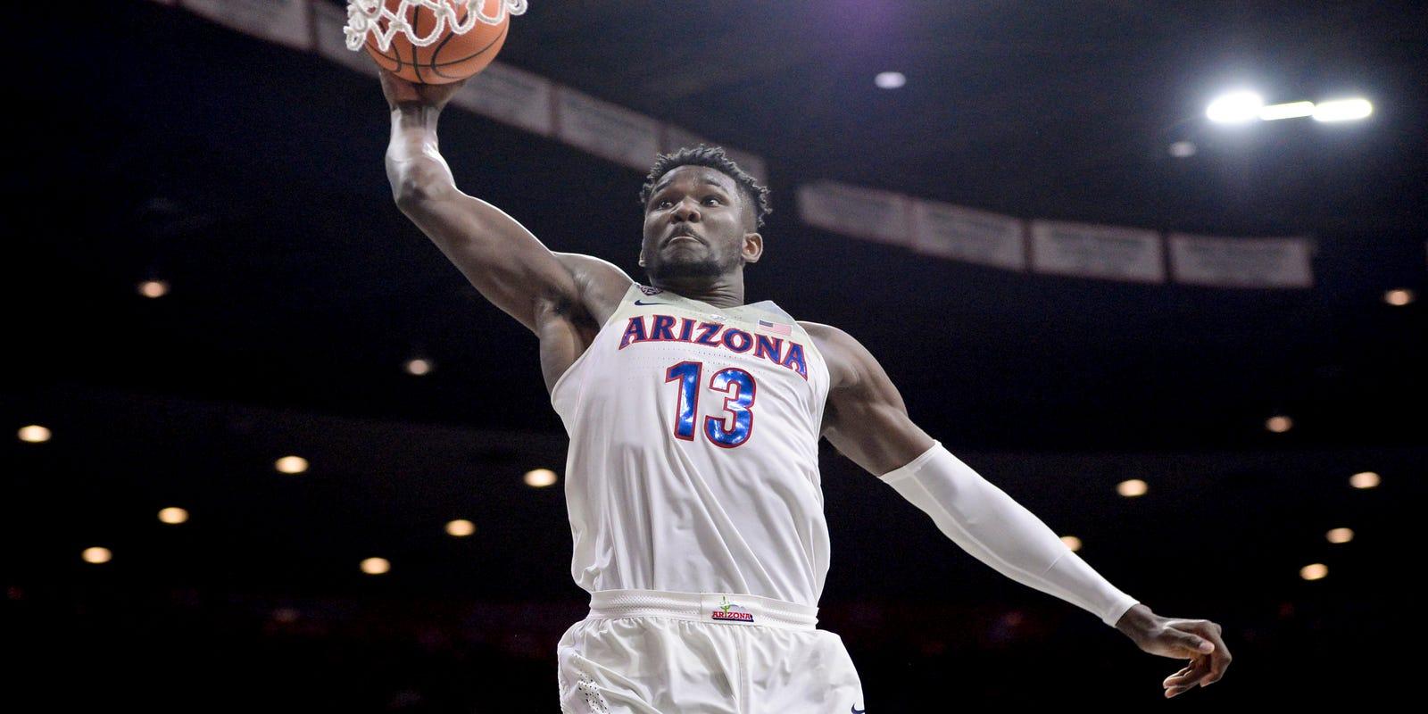 super popular 50dd9 f3dfc Arizona basketball NBA draft history: 71 Wildcats have been ...