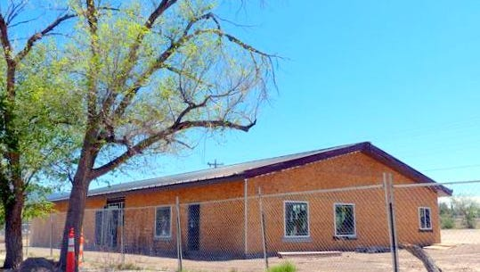A new Zia Senior Center was built last year in Carrizozo.