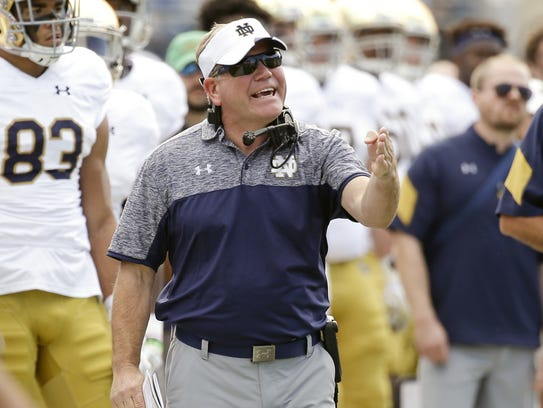There's no denying Brian Kelly is on the hot seat after