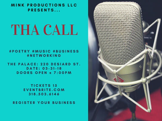 THA CALL is taking place Saturday night.