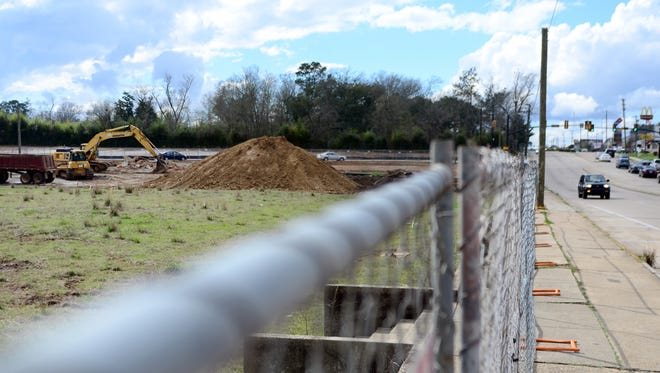 Construction starts for The District at Midtown property off Hardy St. in Hattiesburg.