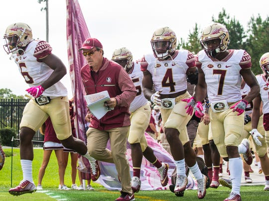 In eight years at FSU, Jimbo Fisher has compiled an 83-23 record, six 10-win seasons, seven bowl appearances and the 2013 national championship.