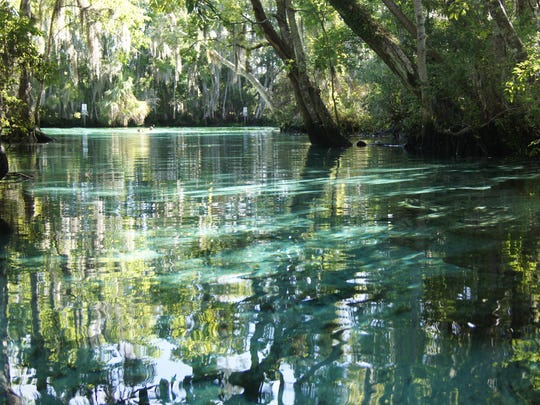 Three Sisters Springs is a collection of three springs