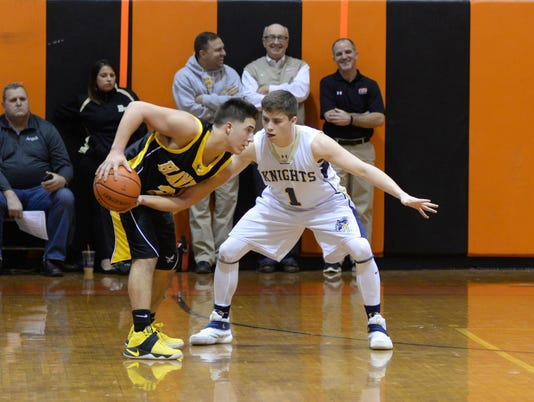 This is the Round of 16 of the Bergen County Jamboree boys basketball tournament