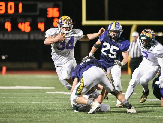 Colby Harris of Lassen led the North with 123 yards
