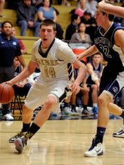 Riley Battin helped Oak Park to the CIF-Southern Section 3AA championship a year ago and is averaging 24.9 points a game this season.