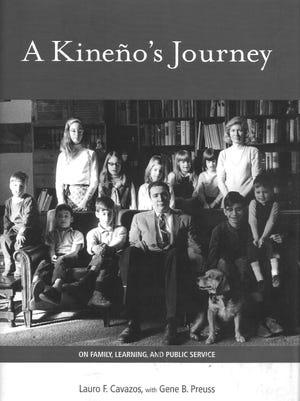 A Kineño's Journey by Lauro F. Cavazos with Gene B. Pruess