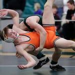 WIAA wrestling sectionals at Preble High School