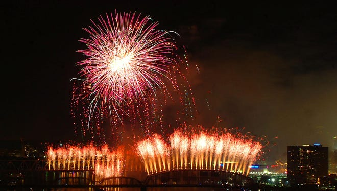 The end-of-summer Western & Southern/WEBN Fireworks is a tradition for Cincinnati-area families. The show is returning for its 39th year.