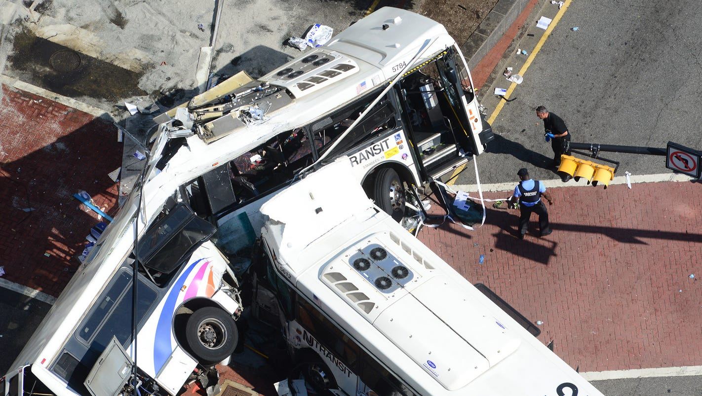 2 Killed After Pair Of N J Commuter Buses Collide