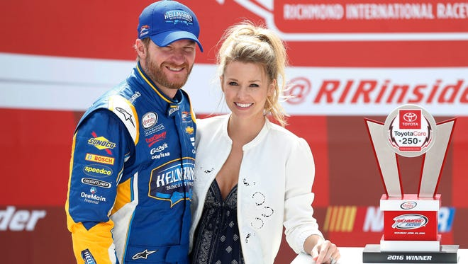 Dale Earnhardt Jr. and wife Amy are expecting a girl in 2018.