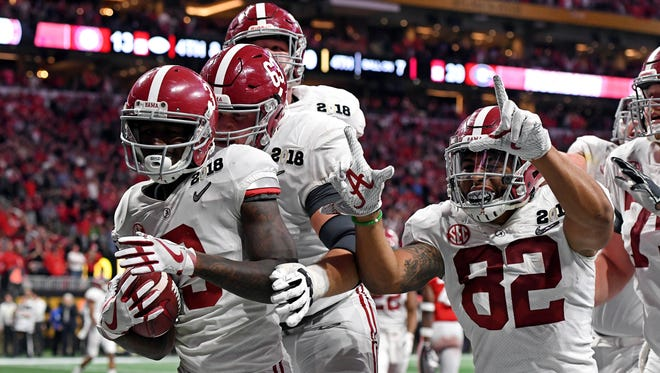 Is Alabama's Calvin Ridley the best wide receiver in the 2018 NFL draft class?