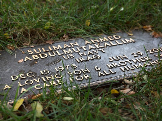 Suliman Ahmed Abdul-Mutakallim, 39, is buried in the military section of Spring Grove Cemetery. He was shot in the head on June 28, 2015 as he walked home with White Castle in South Cumminsville along Elmore St. He died the following day. Javon Coulter, then 14, was one of two teens charged in his death. Coulter just took a plea deal, admitting guilt in the shooting. Judge Megan E. Shanahan presided. He will serve 20 years for involuntary manslaughter with gun specification and aggravated robbery with gun specification. The second teen, Valentino Pettis, also took a plea and will serve 14 years.