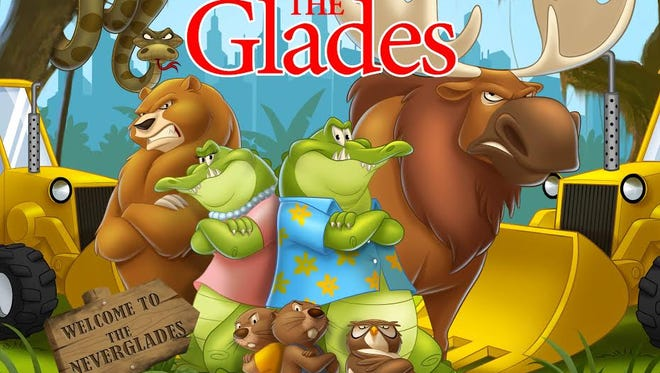 Naples children's author Sabin Johnson hopes to raise money to publish his second book and put it in the hands of Collier students to raise awareness about habitat loss in the Everglades.