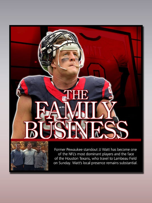 JJ Watt special section cover