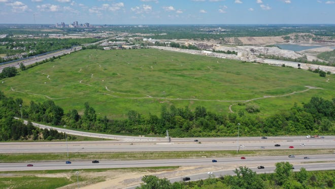 The Solid Waste Authority of Central Ohio will lease 173 acres of this 186-acre site in the Grove City area to a company that will develop a solar farm. The land previously served as Franklin County's sanitary landfill and later was a golf course.