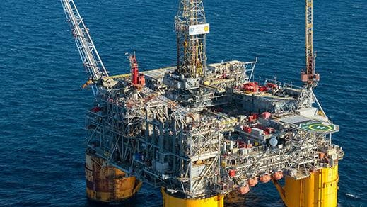 Shell's Ursa platform operates in the Gulf of Mexico about 150 miles southeast of Port Fourchon.