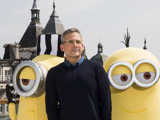 DESPICABLE ME 3 Photo Call