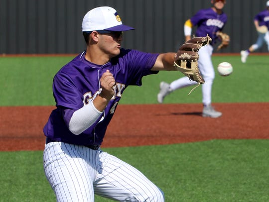 Godley's Nick Menchaca and the Wildcats have only lost once in 29 games this season.