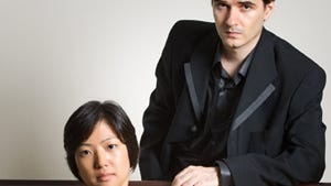 Carrizozo Music offers a concert by the internationally acclaimed Shtrykov-Tanaka Duo at 7 p.m. on Friday, April 21.