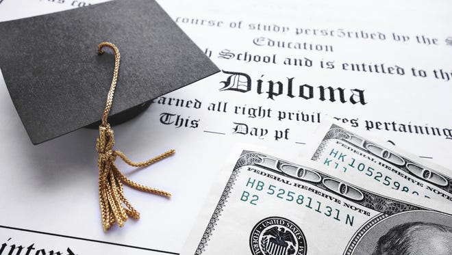 College diploma.
