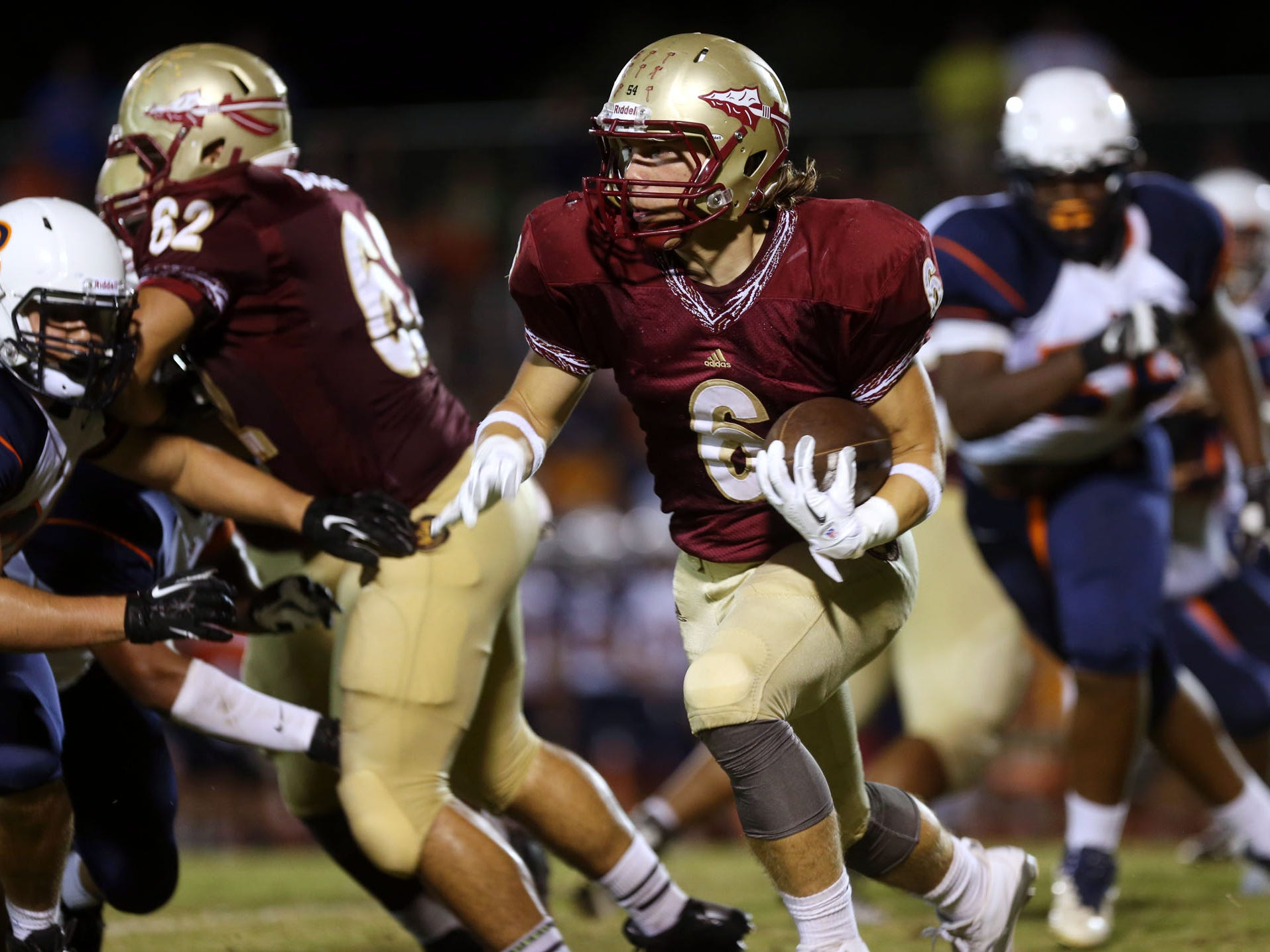 Riverdale and running back Austin Bryant have lost just once this season - to Blackman.