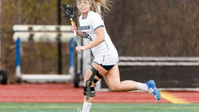 A torn ACL in her left knee cost Isabell Baldrate most of her junior season. The Plymouth South graduate played in 40 career games and was a two-year captain with the Lancers' Women's Lacrosse program.