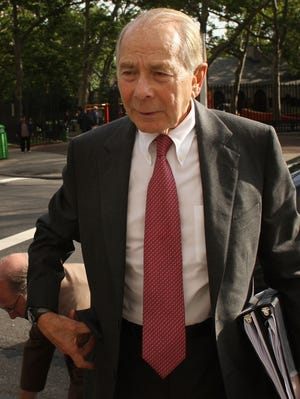 """Former CEO of insurance giant AIG Maurice """"Hank"""" Greenberg,  shown in 2009."""