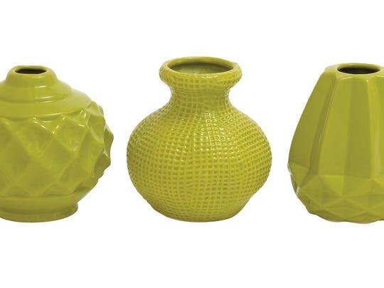 Mercury Row Thucydides ceramic vase set, $57.99, Wayfair.com